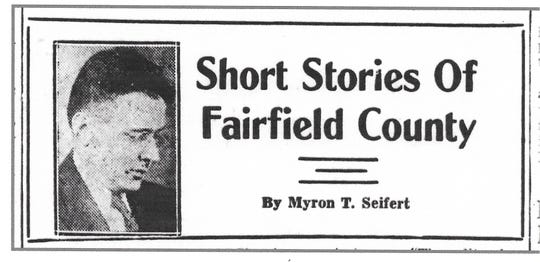 This is the header that appeared above each local history article Myron Seifert published in the Daily Eagle newspaper from September - December 1935.