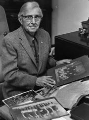 Myron T. Seifert is shown at his desk in this Dec. 28,1981. The photo is from the Columbus Citizen-Journal, Scripps-Howard Newspapers/Grandview Heights Public Library/Photohio.org