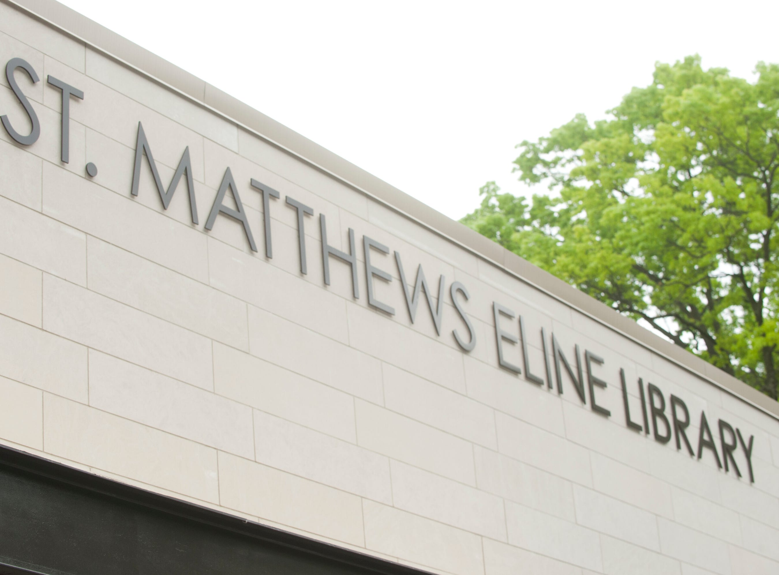 The new edition of the St. Matthews Eline Library adds 7,800 additional square feet to the library, for a total of 19,000 square feet. It is the busiest library in the Louisville Free Public Library system according to Lee Burchfield, the LFPL's executive director. May 9, 2019