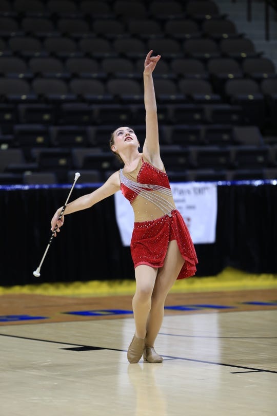 St. Mary's Episcopal School junior baton twirler Madison Brode will be a member of Team USA competing in the International Cup this August in Limoges, France.