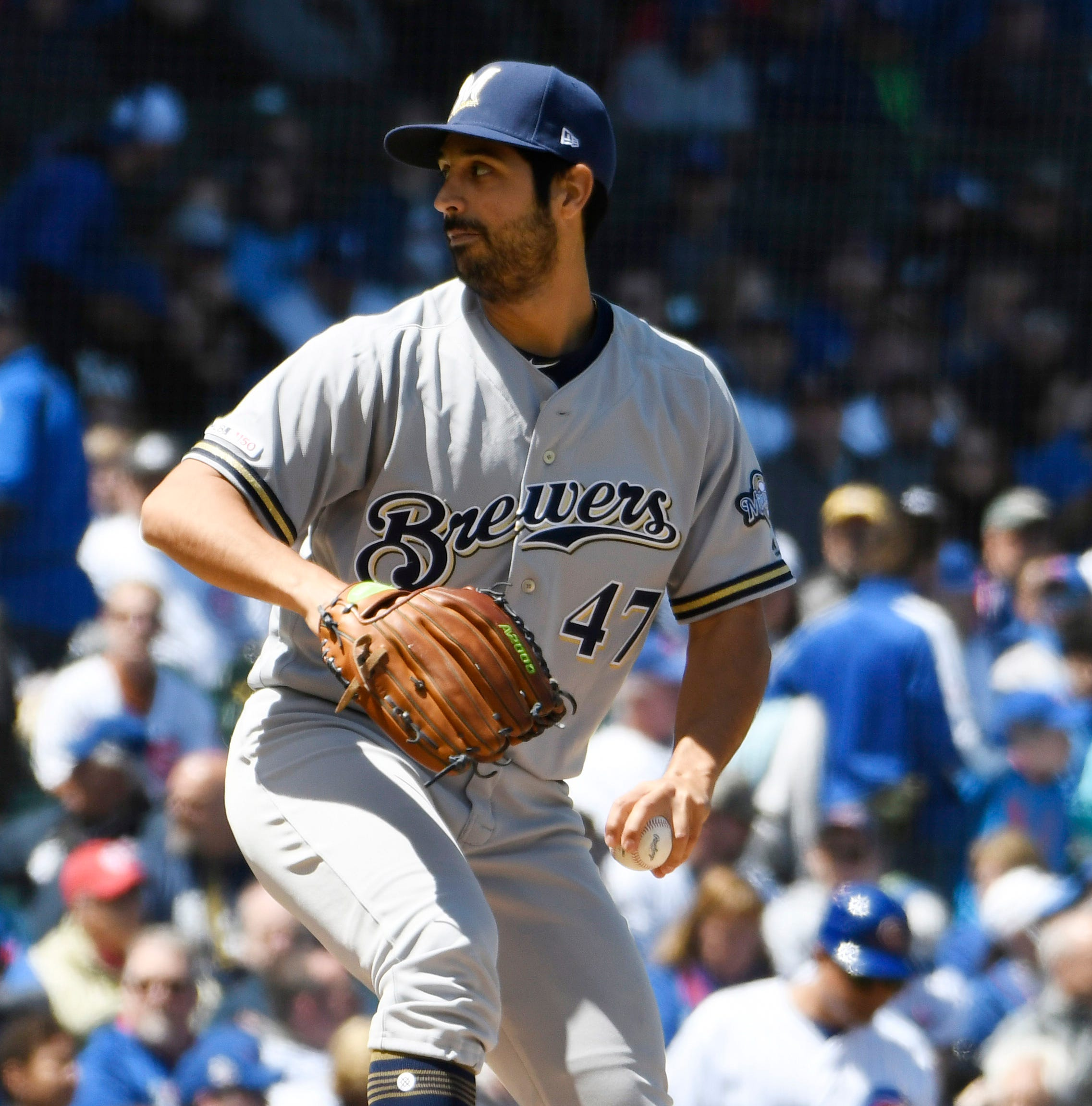 Brewers 7, Cubs 0: Strong start by Gio Gonzalez, late runs stretch win streak
