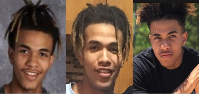 Kenosha police arrested Martice L. Fuller, 15,  on Friday in connection with the shooting death of 16-year-old Kaylie Juga on Thursday. He is seen in these images with different hairstyles.