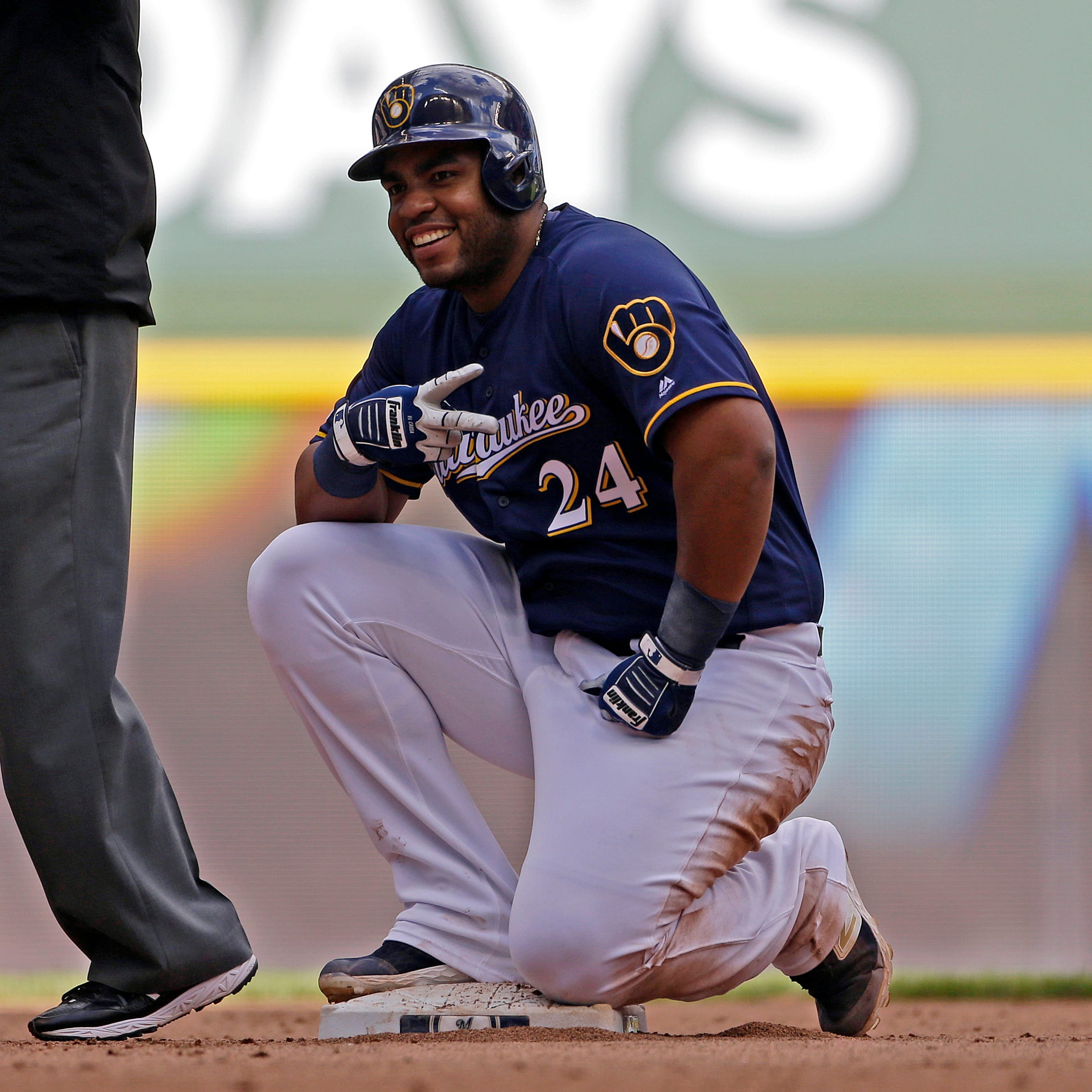 Haudricourt: Brewers hitting coach Andy Haines has been busy trying to serve as slump buster
