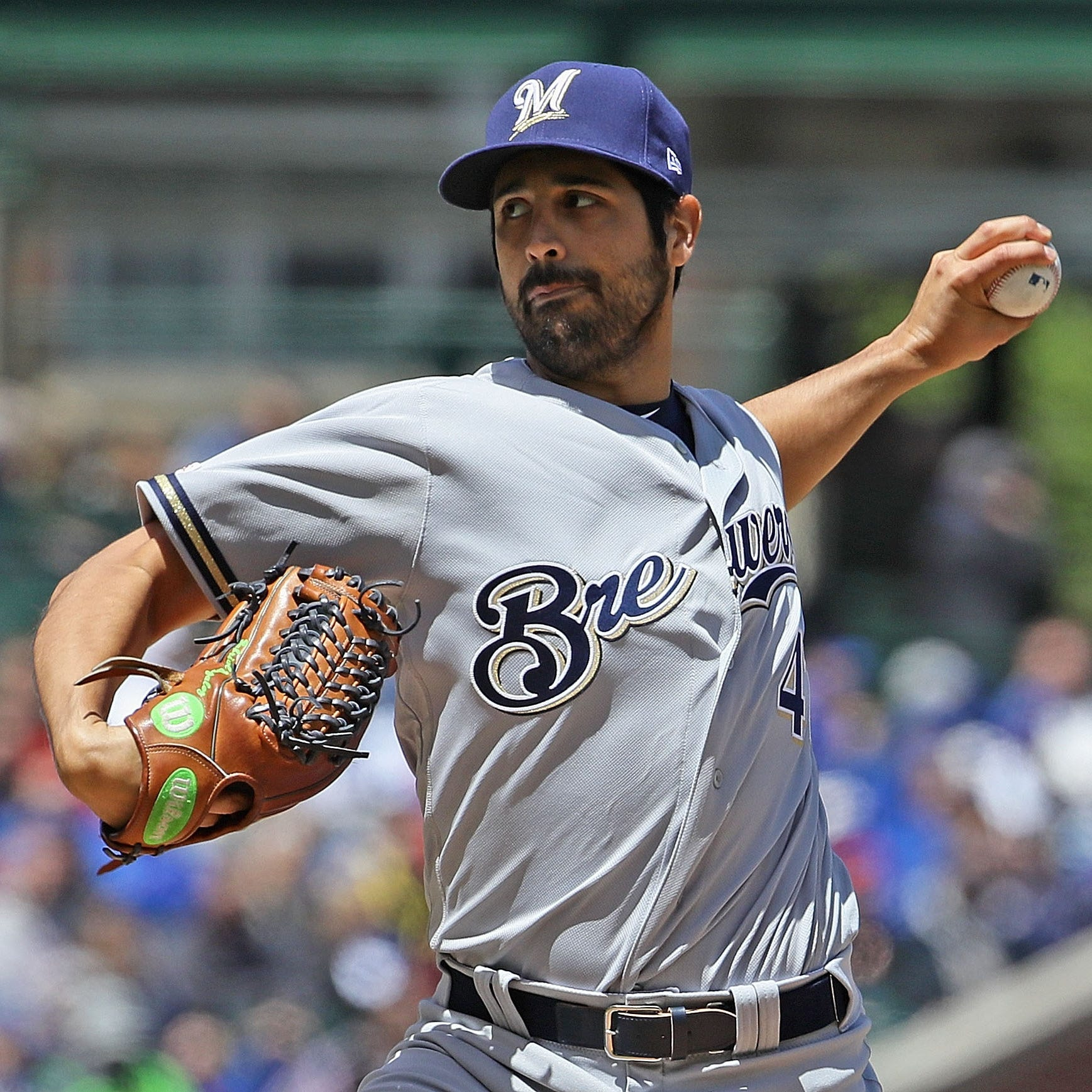 Addition of veteran Gio Gonzalez has played important role in turning around Brewers' pitching