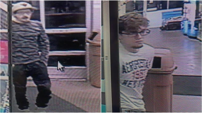 Call 425-7000 if you can help the Baxter County Sheriff's Office identify these two men who are suspected of breaking into several cars in a neighborhood just north of Baxter Labs on off Arkansas State Highway 201 North.