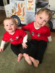 Camden and Rory Forte are the sons of Northern Highlands softball coach Jackie Forte and PGA professional Tommy Forte, the caddy master at Glen Ridge Country Club.