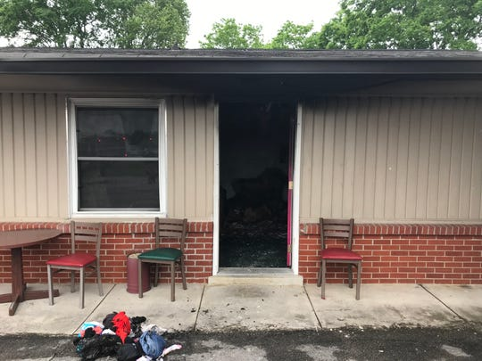 Murfreesboro Fire Rescue Department responds to fire at Chrisman Motel