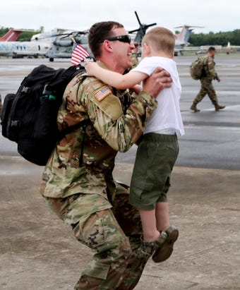 Tennessee National Guard returns after nine-month deployment