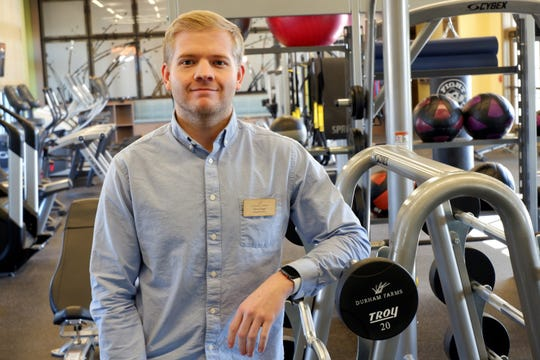 Chris Page, Durham Farms' lifestyle director, enjoys helping neighbors meet and become friends.