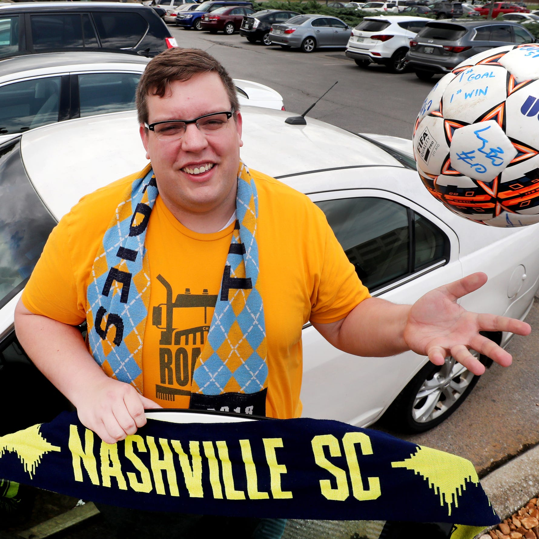 Meet the Nashville SC fan who will travel 10,000 miles this season