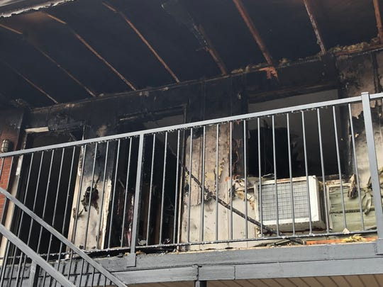 A building fire in North Nashville seriously damaged six apartments on Friday afternoon.