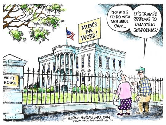mum's the word at white house