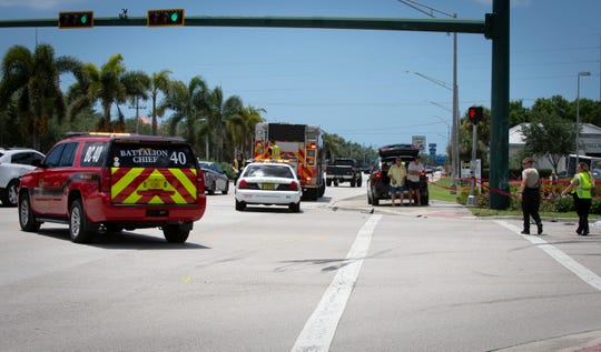 A U-Haul truck driver caused an 11-vehicle crash on Immokalee Road near NCH North after likely suffering from a medical emergency, officials said. Three people were taken to the hospital but no major injuries were reported.