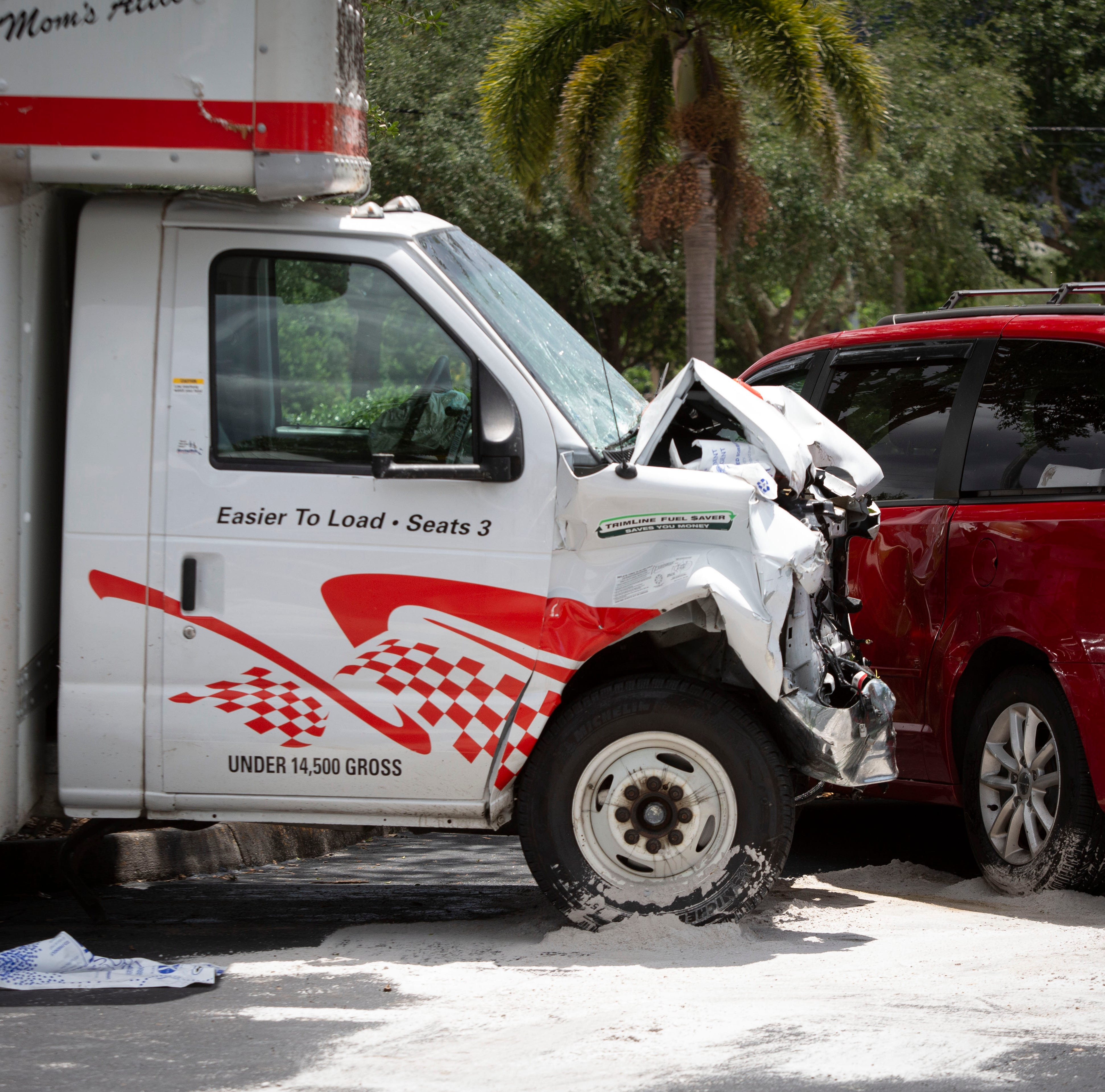Crash blocks Immokalee Road during lunch rush; driver had medical emergency in 11-car crash