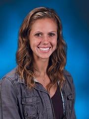 Meg Joiner, First Baptist Academy girls track coach