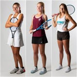 A look at the three finalists for the Naples Daily News' 2019 Girls Tennis Player of the Year award