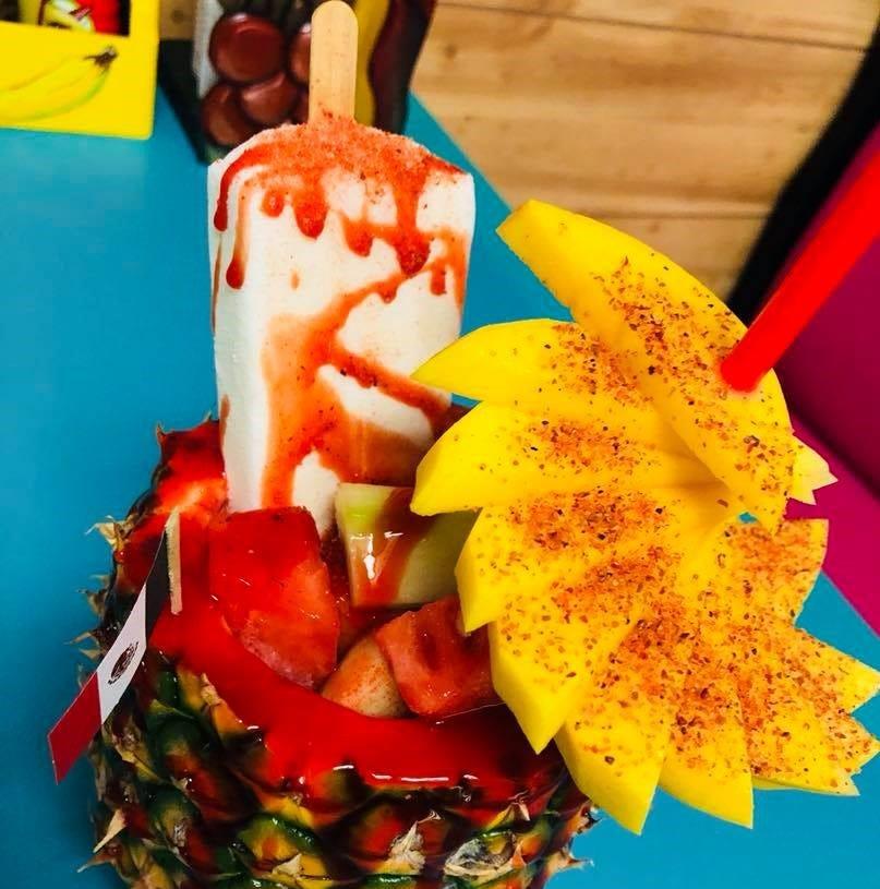 Piñas Locas Quetzaly in Passaic serves Instagram-worthy carved fruit treats