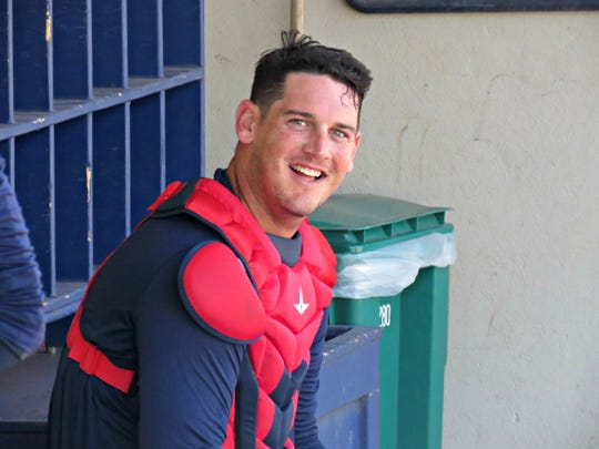 Patriots catcher Mike Ohlman