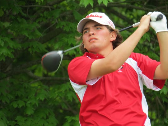 Will Celiberti led Bergen Catholic to the Overall title at the Big North Conference Golf Championship Bergen Bracket and won individual honors at Rockleigh Golf Course in Rockleigh on Friday, May 10, 2019.