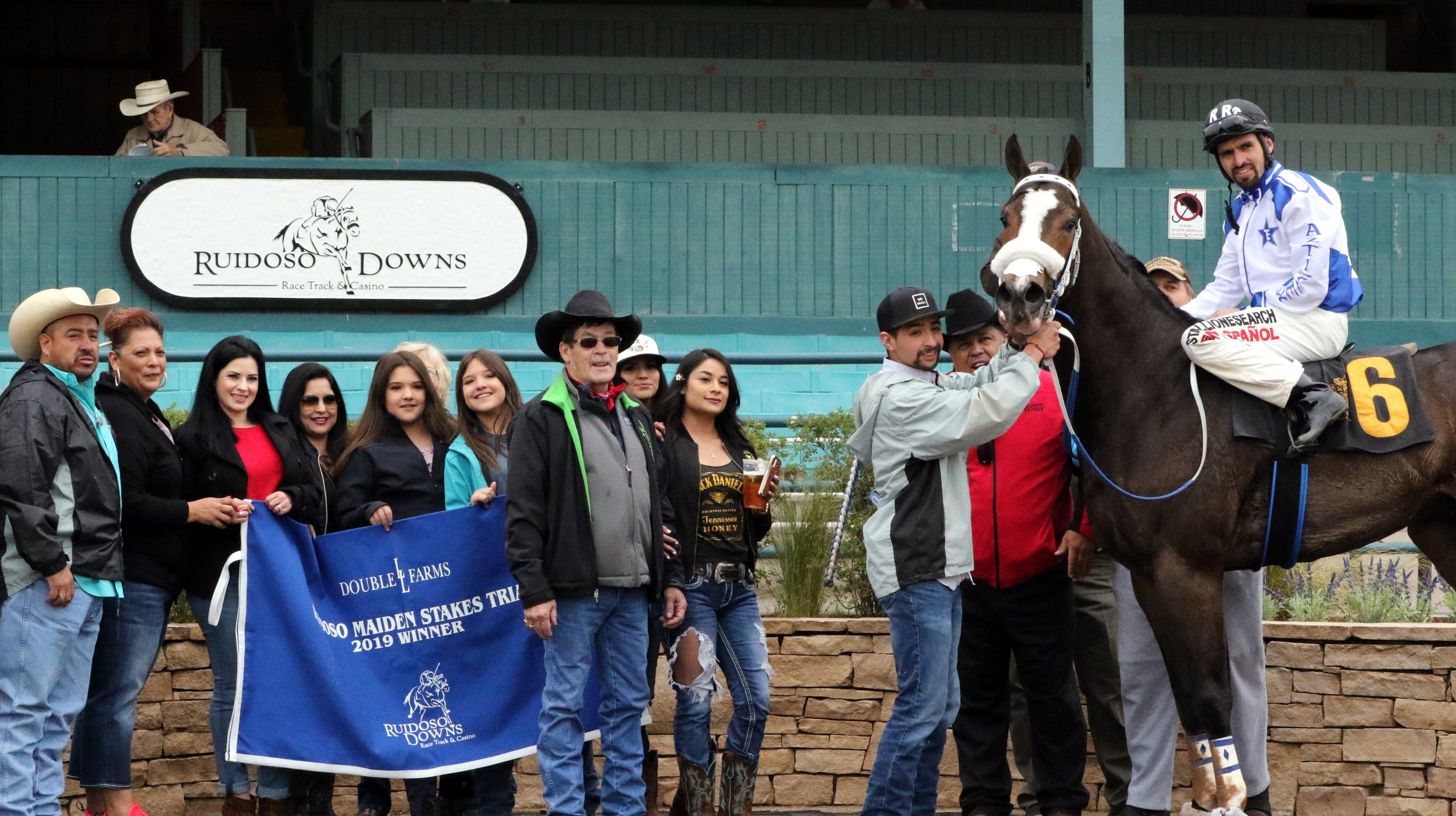 Ruidoso Downs Maiden Stakes Trials a big hit for horse