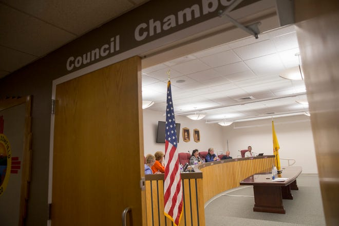 Bloomfield City Council meet inside the Council Chambers at Bloomfield City Hall.