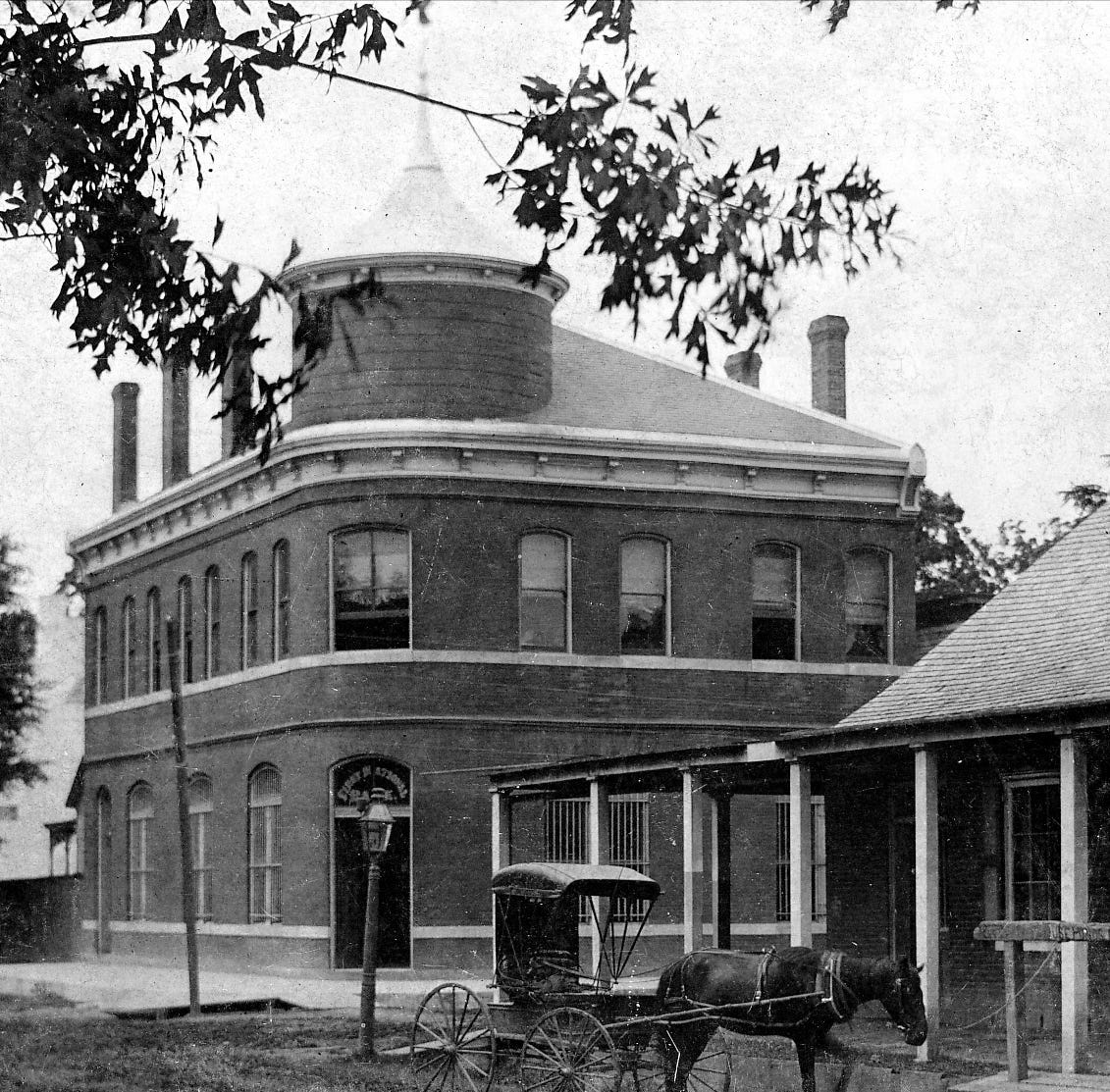 Banking in Opelousas — The First National Bank of Opelousas in 1890