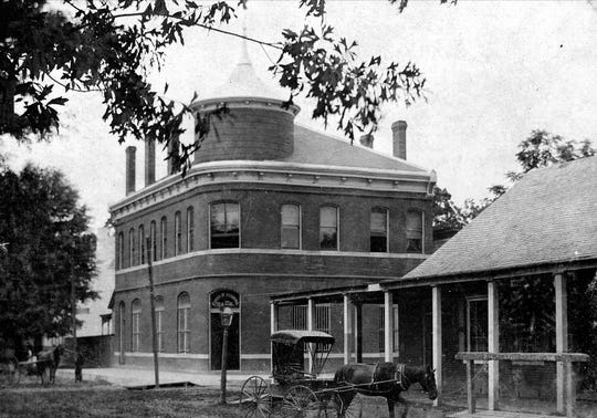 1st National Bank of Opelousas in about 1893