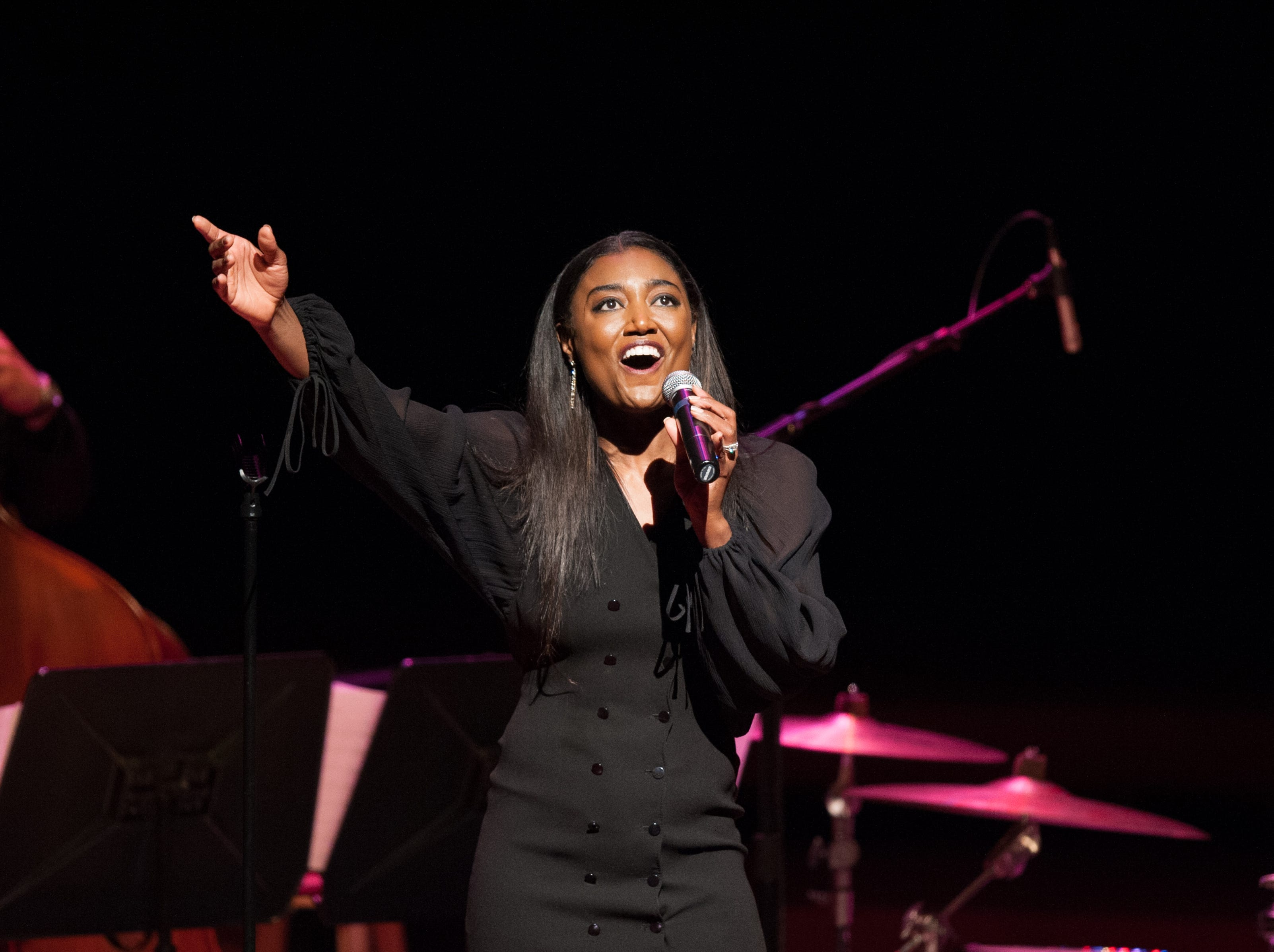 """Singer and actress Patina Miller, who won a Tony Award for playing the Ben Vereen in """"Pippin,"""" will perform at the Annenberg Theater on Feb. 15, 2020."""