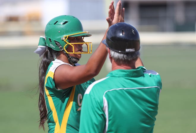 Cheyenne Sandoval of Coachella Valley High School is one of several DVL senior standouts whose high school careers came to an abrupt end this spring.