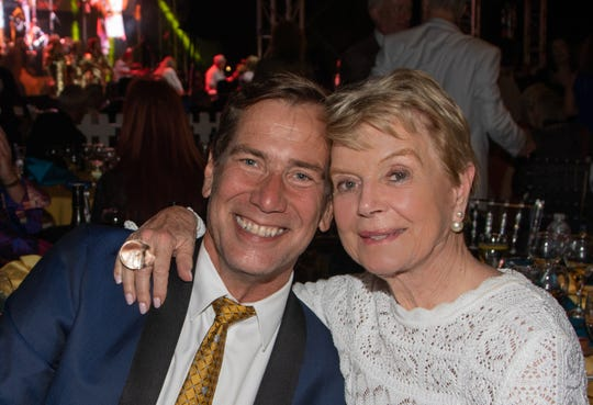 Scott Histed with philanthropist Donna MacMillan