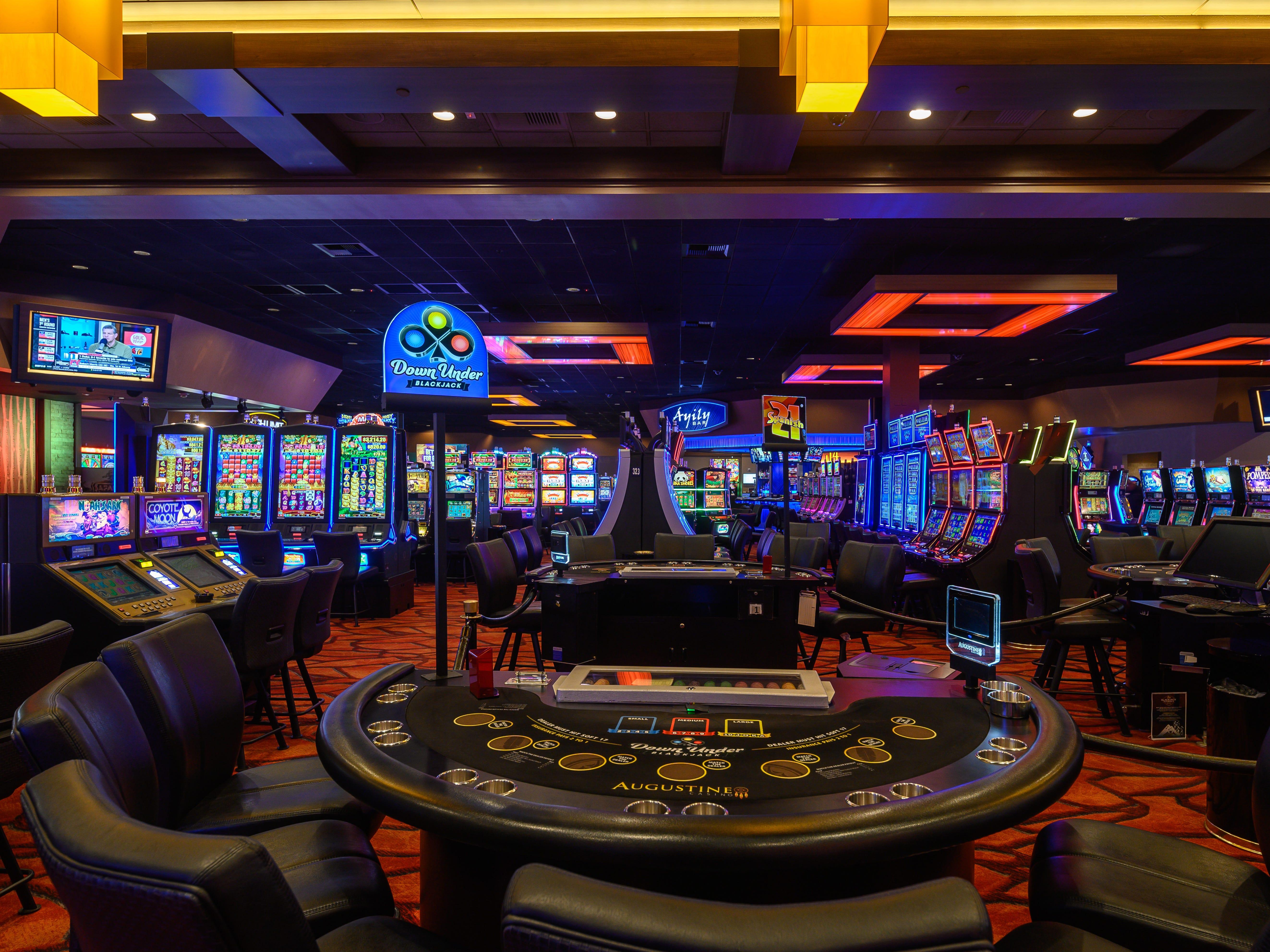 The Augustine Casino in Coachella, Calif.