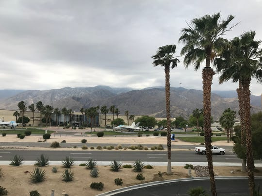 Wind, rain and lower-than-average temperatures will make up much of the weekend weather in the Coachella Valley.