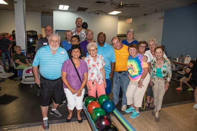 """""""Shootout"""" winners, the Cathedral City Senior Center team."""