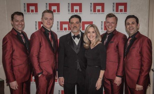 Under the Streetlamp, Maestro John Mario and Coachella Valley Symphony President, Dr. Lisa Lindley