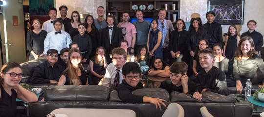 Coachella Valley Youth Symphony and Beginning Strings Conservatory in Green Room with Under the Streetlamp