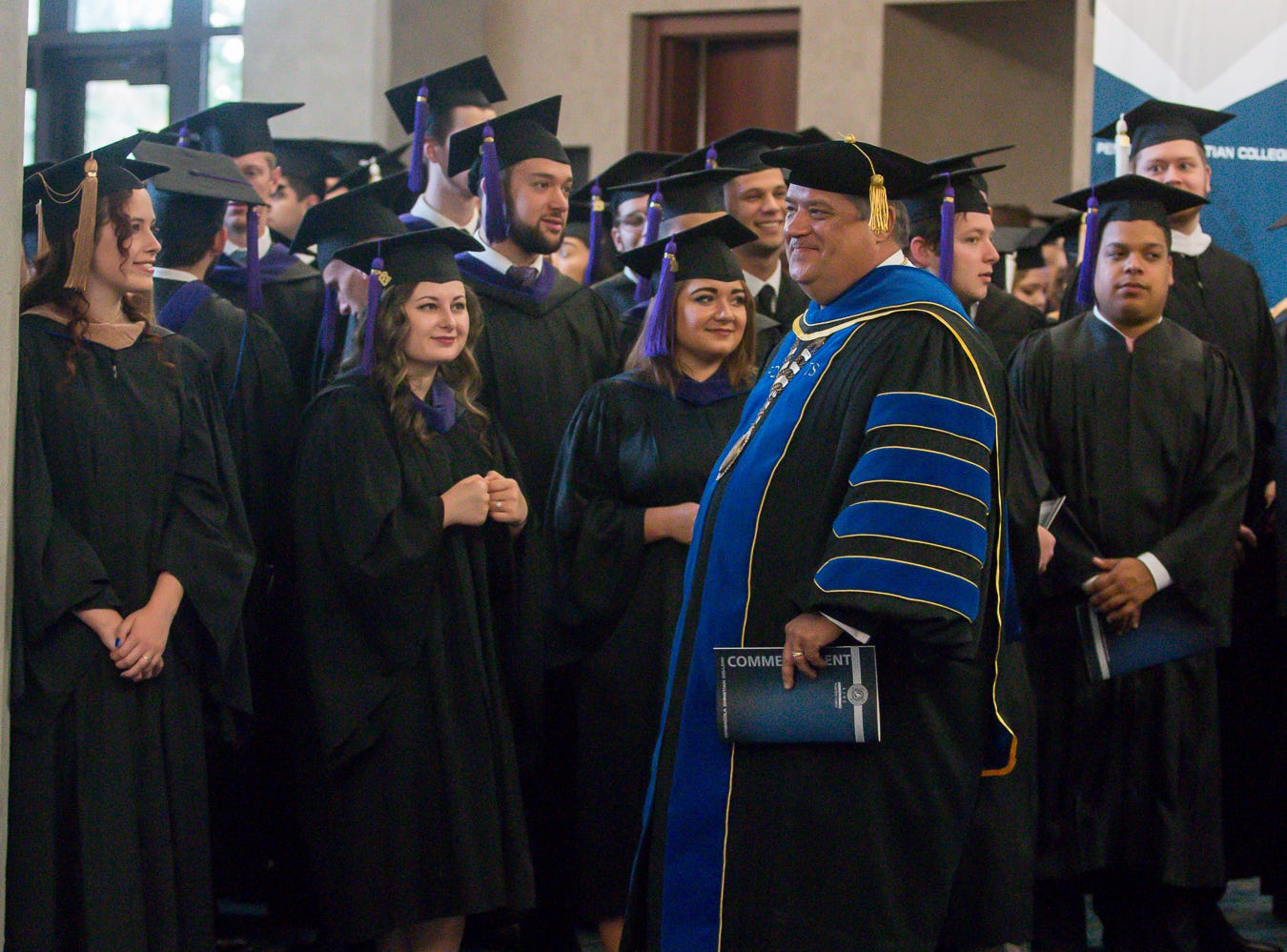 Over 1,000 students graduate from Pensacola Christian College on Friday, May 10, 2019, during the school's 44th commencement ceremony.