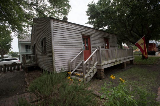 The Julee Cottage in the Pensacola Historic Village is pictured Friday.