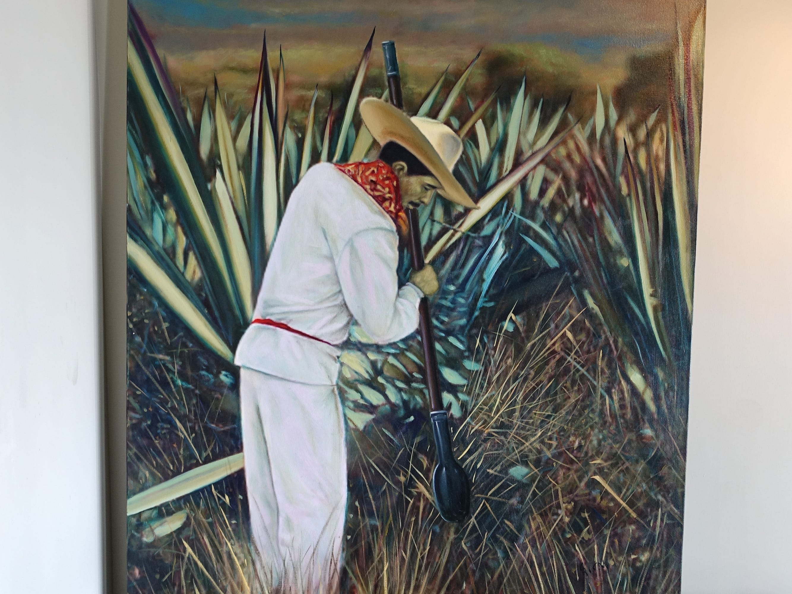 Artwork at La Marquesa in Phoenix.