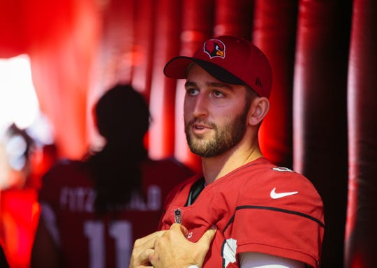 Former Cardinals quarterback Josh Rosen and new Cardinals wide receiver Andy Isabella will be linked forever.