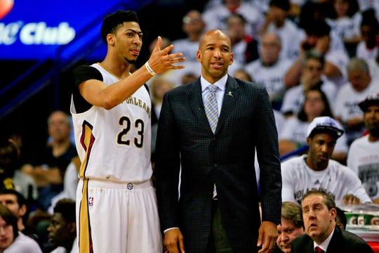 New Suns coach Monty Williams used to coach Anthony Davis.