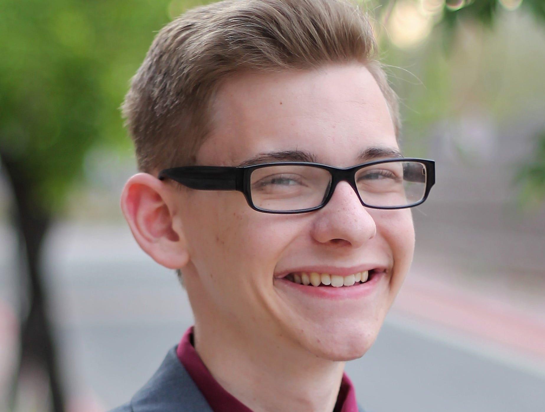 Nathaniel Ross, Mesa High School.