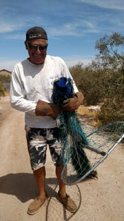 Nick VanVliet helped capture Pretty Boy, the peacock who was missing for six days.