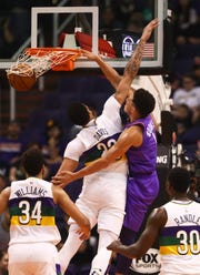How would Devin Booker and Anthony Davis look on the same team?