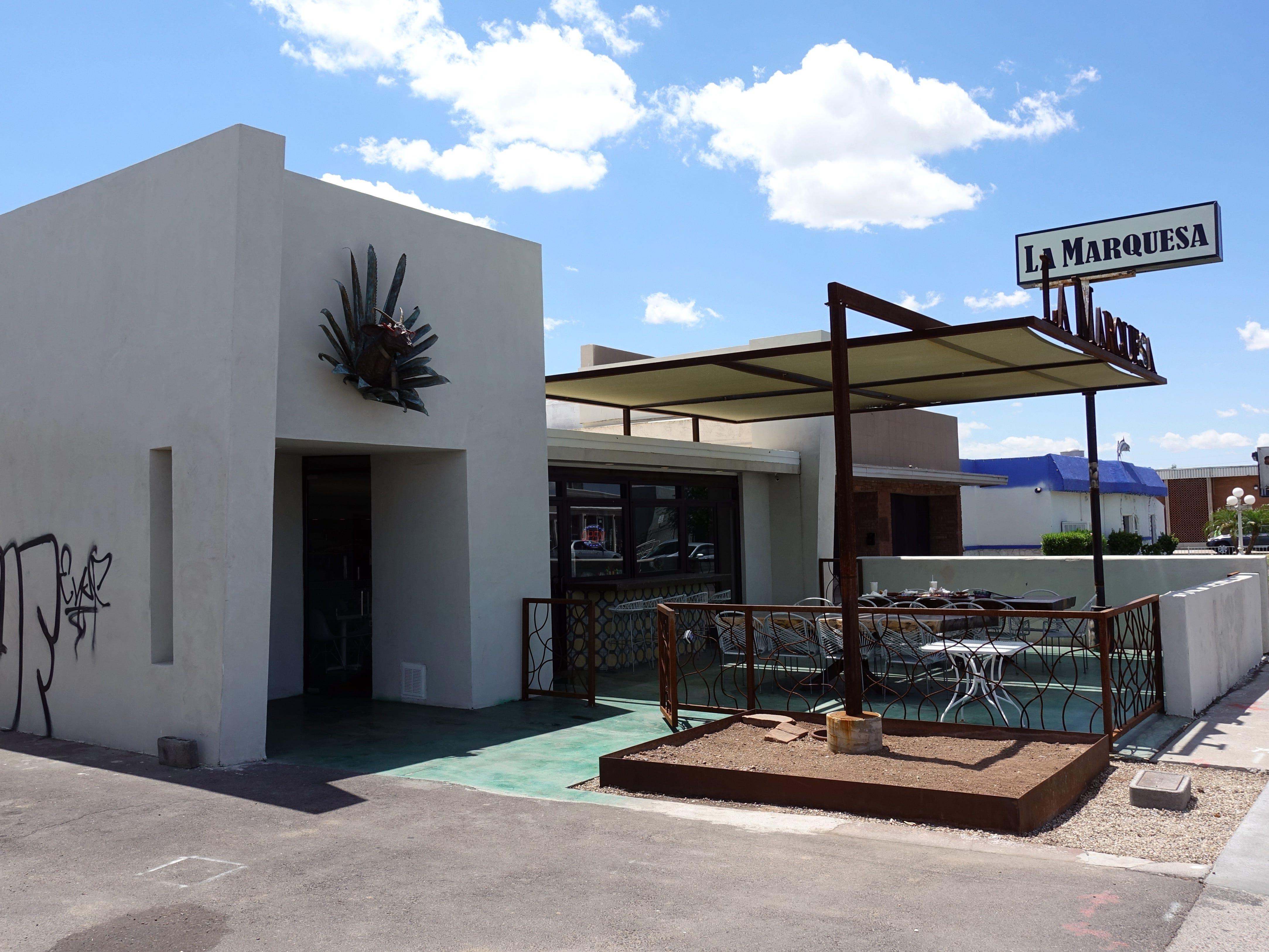 The exterior of La Marquesa in Phoenix.