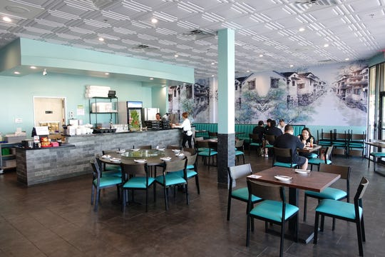 The interior of Old Town Taste in Tempe.