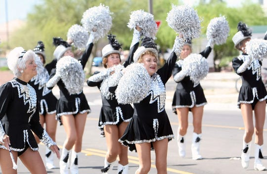 """Hey, we love the Sun City Poms, too. But no, the new film """"Poms"""" is not based on their story. The Sun City group performs in 2010."""