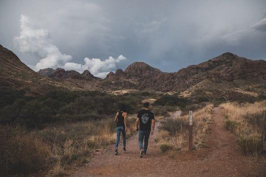 El Cañón de Soledad es una de las muchas áreas para que los excursionistas disfruten dentro del Monumento Nacional Organ Mountains-Desert Peaks.