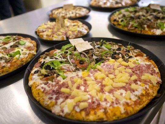 Organ Stop Pizza tiene una variedad de tartas.