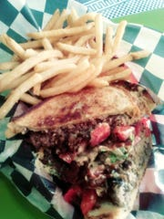 A Sausito  from Queson Dee'as, specially created for Downtown Lebanon Burger Week.