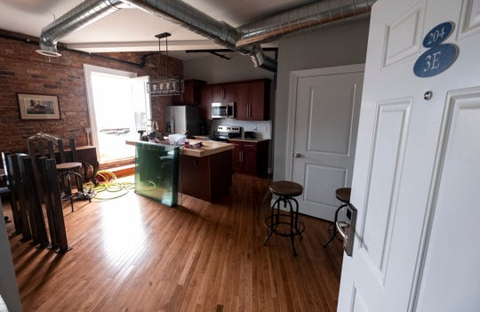 A unit in the Ballentine lofts that hasn't been rented out is being considered for an Airbnb.